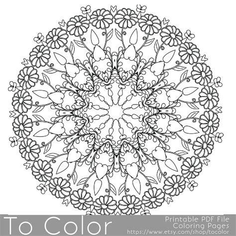 intricate printable coloring pages  adults gel pens