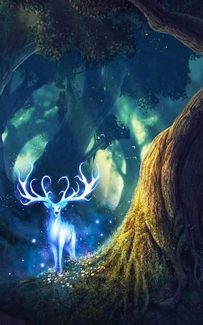 Fairy Deer Mobile Wallpapers 4k Fantasy Desktop