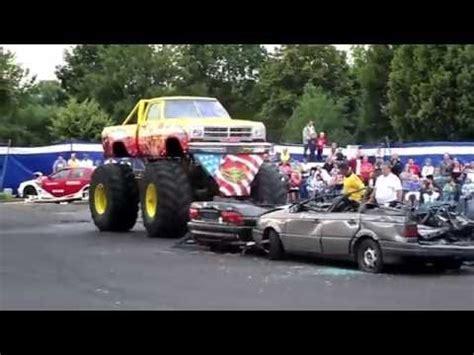 bradford monster truck show monster truck stunt show youtube