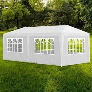 Tente De Jardin Pas Cher : tonnelle de jardin tente de r ception chapiteau bleu 3x4m ~ Dailycaller-alerts.com Idées de Décoration