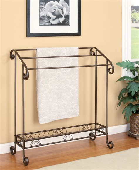 bathroom towel rack fancy home decor metal bathroom towel racks place your