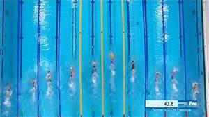 VIDEO - Sarah Sjostrom eases into women's 100m freestyle ...