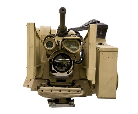 CROWS II Mounted with M2 .50 Cal | CROWS provides Soldiers ...