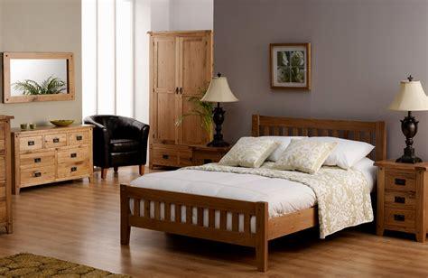 bedroom colour schemes  oak furniture color interior