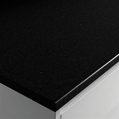 wickes laminate worktop black matt     mm