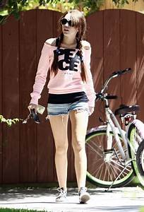 Miley Cyrus in Miley Cyrus Family Bike Ride - Zimbio