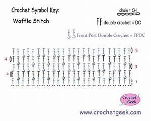 Crochet Waffle Stitch Crochet Pattern