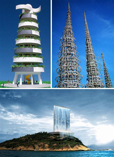 super skyscrapers  concept towers  reach sky high