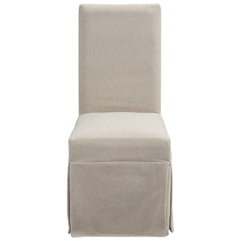progressive furniture muses upholstered parsons chair w