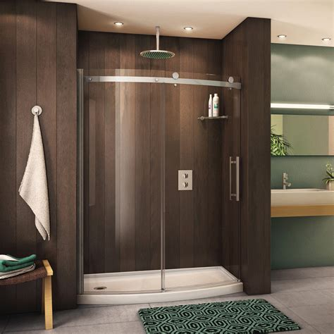 Curved Shower Door by Fleurco Novara Bowfront 60 Curved Door And Panel