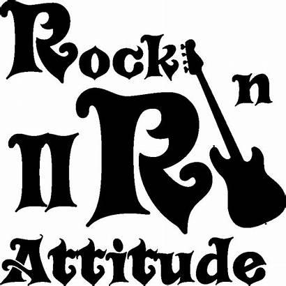 Rock Roll Sticker Attitude Ambiance Stickers Mur
