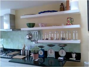 Marvellous kitchen shelf decor inspirations modern