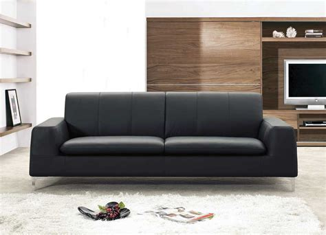 Leather Sofa  Contemporary Sofa  Modern Sectional New