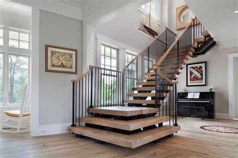 beach house delight beach style staircase dc metro