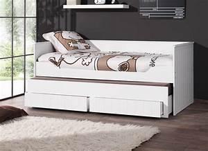 Kojenbett Weiß 90x200 : kojen etagenbett robin 2 x liegefl che 90 x 200 cm ~ Whattoseeinmadrid.com Haus und Dekorationen