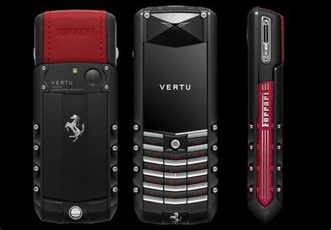vertu luxury vertu luxury phones vertu launches the ascent ferrari gt
