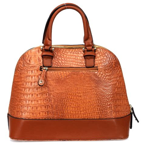 designer inspired handbags designer inspired faux croc leatherette handbag