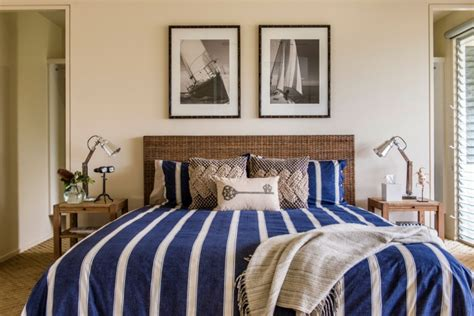 17+ Nautical Bedroom Designs, Ideas