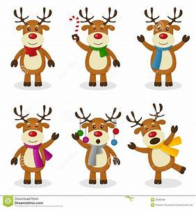 animated christmas reindeer clipart - Clipground