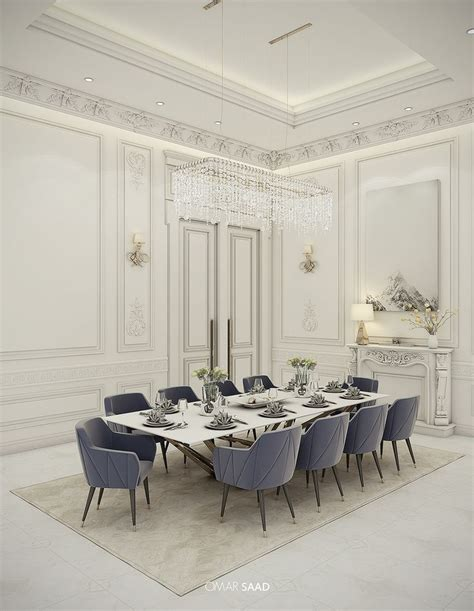 Contemporary Classic Home by Luxury Classic Villa Interior Design On Behance Neo