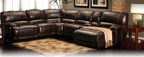 Furniture Row Leather Couch