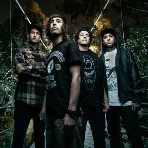 Pierce The Ceil by Pierce The Veil Do Mcr With Hell Above Video Yell