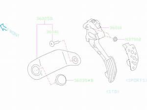 Subaru Legacy Accelerator Pedal Sensor