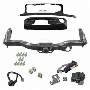 Oem Trailer Tow Hitch Receiver W   Harness And Finisher Kit For Nissan Pathfinder