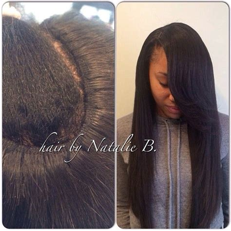 Looking Sew In Weave Hairstyles by Tired Of Bulky Sew Ins I Create My Signature Flawless Sew