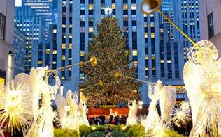 rockefeller center announces date of christmas tree lighting ceremony travel leisure