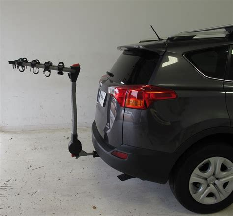 toyota rav4 bike rack 2015 toyota rav4 yakima ridgeback 4 bike rack 1 1 4 quot and