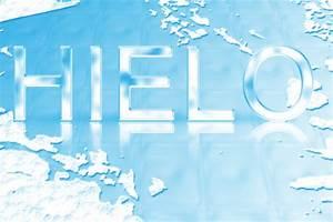Texto de hielo con base EfectosPs