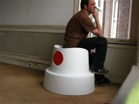 graffiti inspired furniture sander van heukeloms fat cap