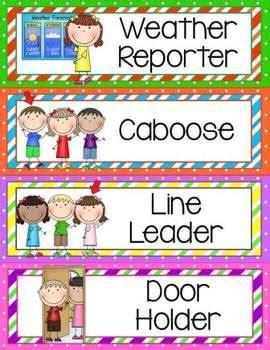 classroom helpers clip chart by alma almazan teachers 775 | original 808410 3