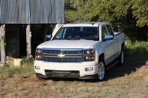 chevrolet silverado high country review car reviews