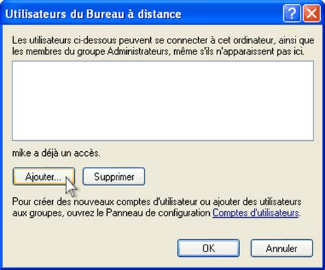 autoriser bureau a distance travail 224 distance avec windows xp universal document converter