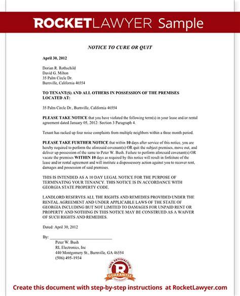 georgia eviction notice form georgia eviction notice sample