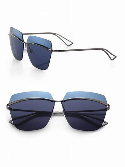 Sunglasses Dior Metallic Square 53mm