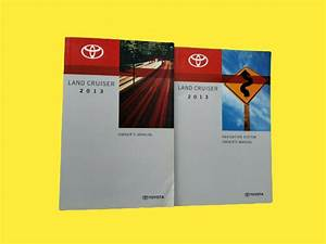 2013 Toyota Land Cruiser Navigation System Owners Manual
