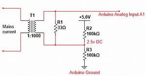 Current Sensor Circuit Diagram