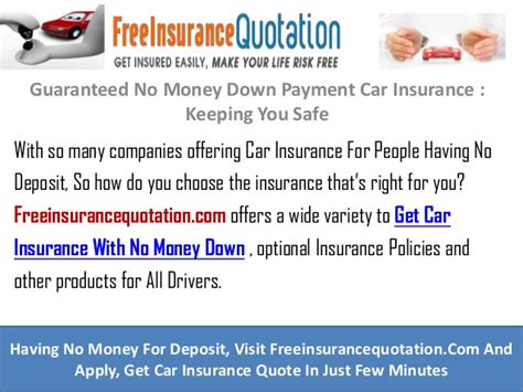 guaranteed  money  payment car insurance keeping