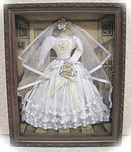 victorian shadow box 1 bride shadow boxshadow boxbridal veil With shadow box for wedding dress