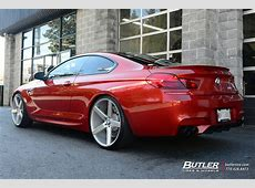 BMW M6 with 22in Niche Milan Wheels exclusively from