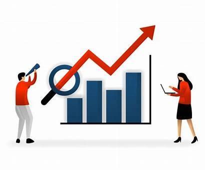 Sales Seo Targets Traffic Promotion Vettore Obiettivi