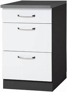 Küchenunterschrank 50 Cm Breit : wiho k chen k chenunterschrank michigan breite 50 cm ~ A.2002-acura-tl-radio.info Haus und Dekorationen