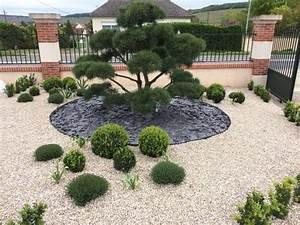 amenagement jardin exterieur avec galets amenagement With amenagement jardin avec galets