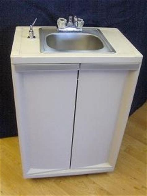 used self contained portable sink sb001 portable self contained stainless steel sink single