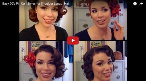 1950s Hairstyle Tutorial by 1950 Hairstyle Tutorials 30 Tutorial Bold Dress