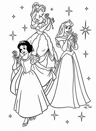 Coloring Princess Aurora Disney Colornimbus Cinderella Printable