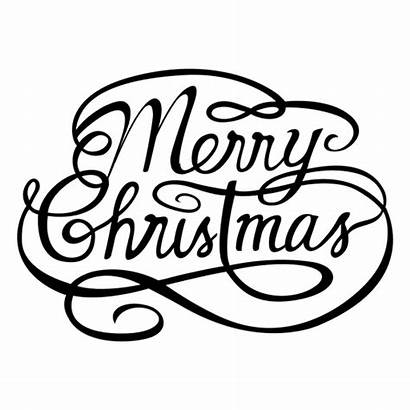 Merry Christmas Calligraphy Background Fancy Transparent Svg